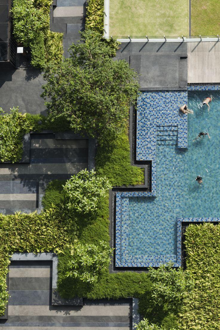 234 best landscape architecture images on pinterest landscape this place is the base condominium by sansiri shma design the landscape