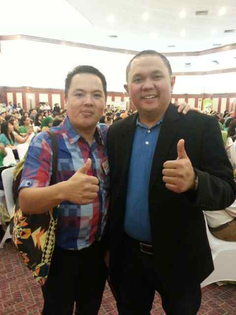 Me and Mr.Marshyellino Cambey [Master Trainer Digital Marketing] Internet is Your Money Magnet
