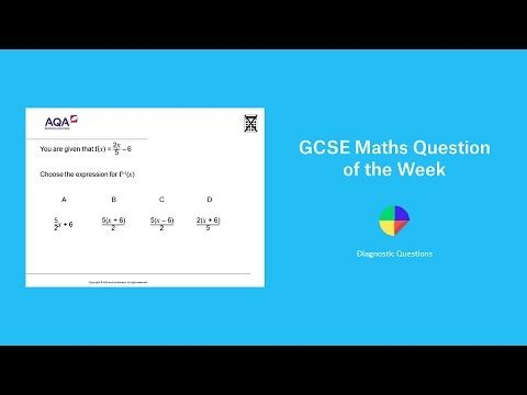 Inverse Functions: GCSE Maths Question of the Week - YouTube