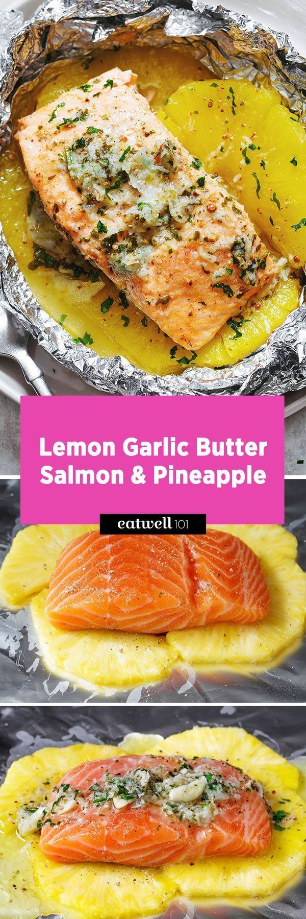 Salmon in Foil Packets – Easy to make, tastes delicious & ready in 20mins!