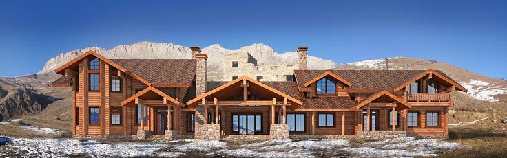Проект высокогорного отеля