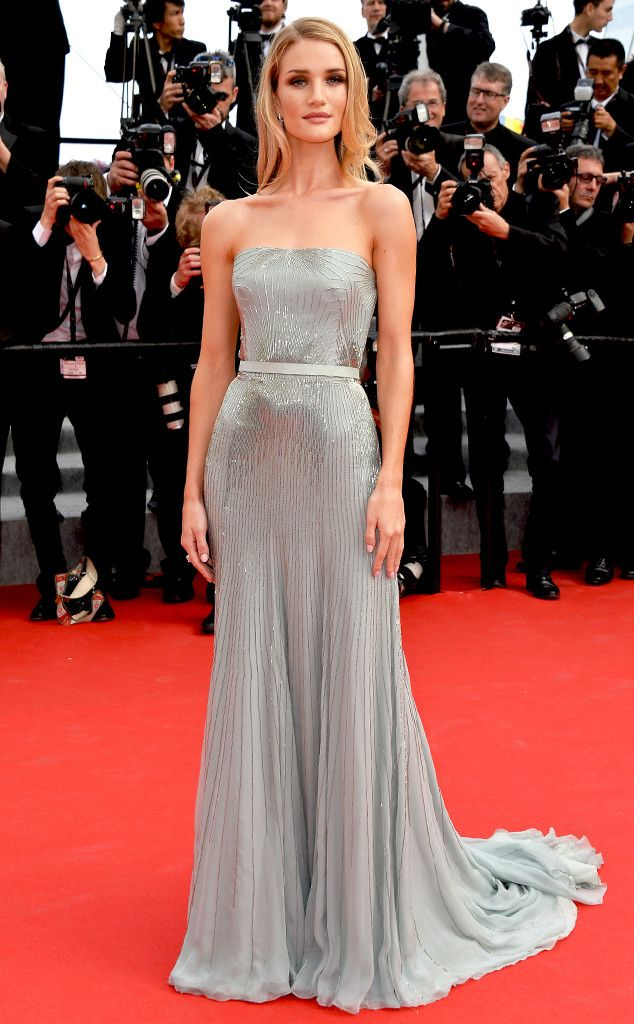 Rosie Huntington-Whiteley shimmers at Cannes in Gucci Première!