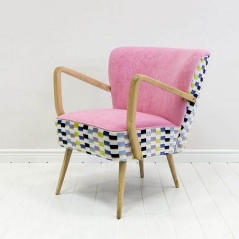 Deca: renovated armchair | odnowiony fotel