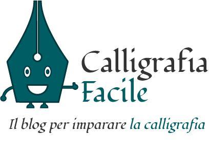 logo del sito calligrafia facile, il blog per imparare la calligrfia