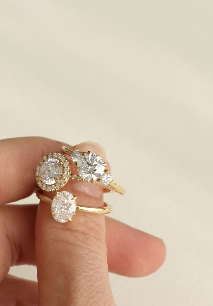 diamond engagement ritani rings jewelry shared head setting a ring what blog prong is prongless