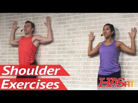20 Min Shoulder Stretching & Strengthening for Pain Relief - Shoulder Pain Exercises Stretches - YouTube