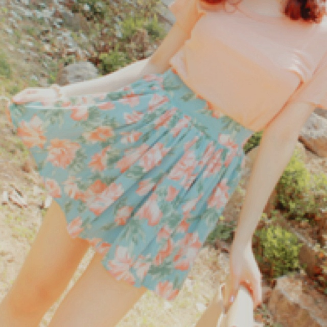 Summer skirts:; Floral