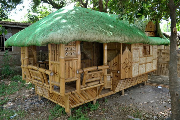 how to make bamboo house