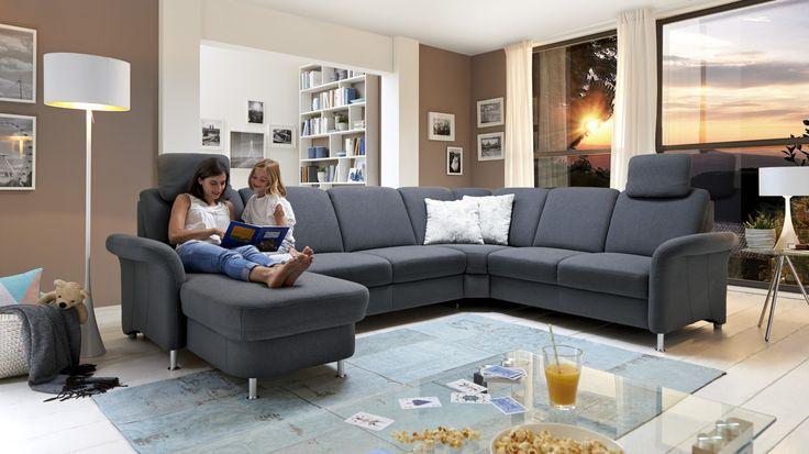 Italienisches Design Sofaprogramm - Ledersofa Symphony - wohnzimmer italienisches design