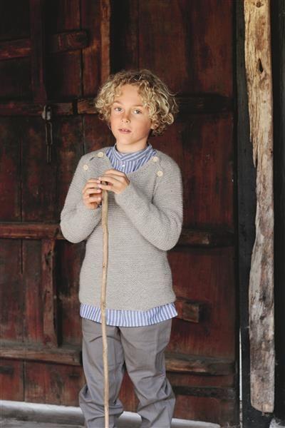 1512: Design 11 Genser med raglanåpning #strikk #knit