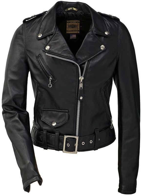 Schott Women's Lambskin Perfecto 218W  - they do custom sizing as well. Crazy expensive, but this is the perfect biker jacket $500
