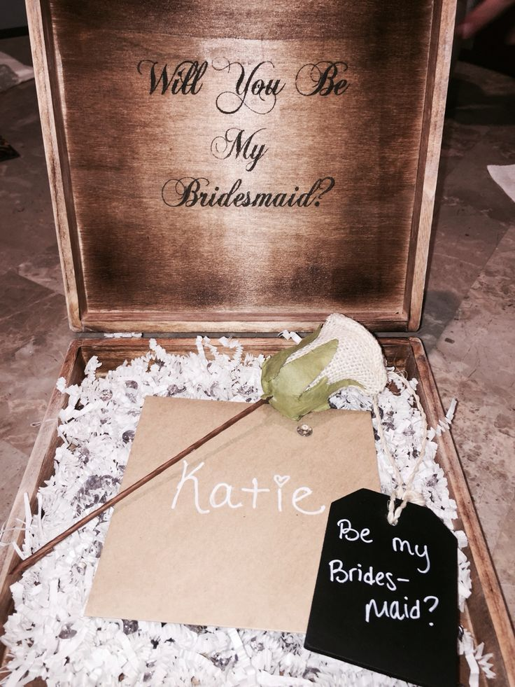 18 best Ways to ask my bridesmaids images on Pinterest   Bridesmaid ...