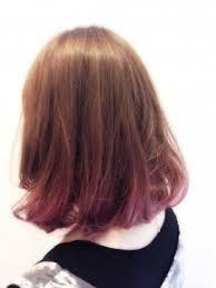 「ピンク 髪色 グ...」