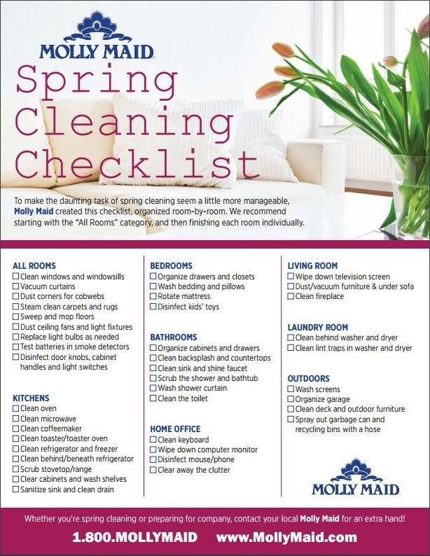 Spring cleaning checklist Quotes and Memes Pinterest Memes - sample spring cleaning checklist