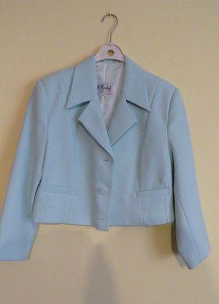 Kup mój przedmiot na #vintedpl http://www.vinted.pl/damska-odziez/marynarki-zakiety-blezery/12531489-bardzo-wygodna-mietowa-garsonka-40