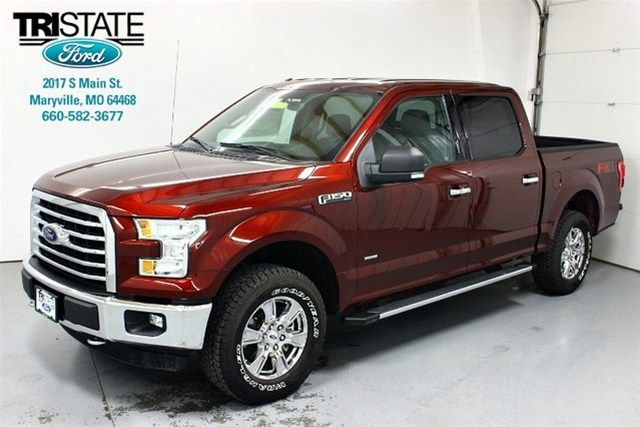 2015 Ford F 150 Xlt Supercrew Cab Color Bronze Fire