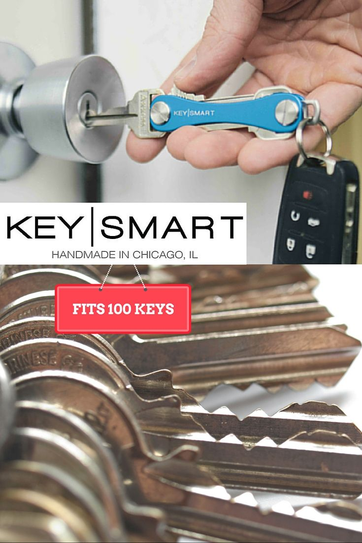 You should check out this new invention! It holds up to 100 of your keys on this cool key organizer that kinda looks like a pocket knife. Its a great gift for any guy, and it also makes it easier to fit your keys in your purse. Check it out and if you like it, use discount code FALL15 by November 30, 2015 for 15% off!