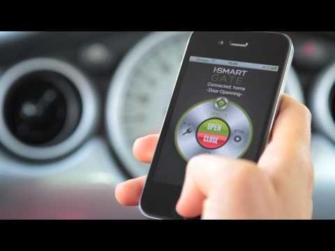 iSmartGate: Open garage door with iphone & android