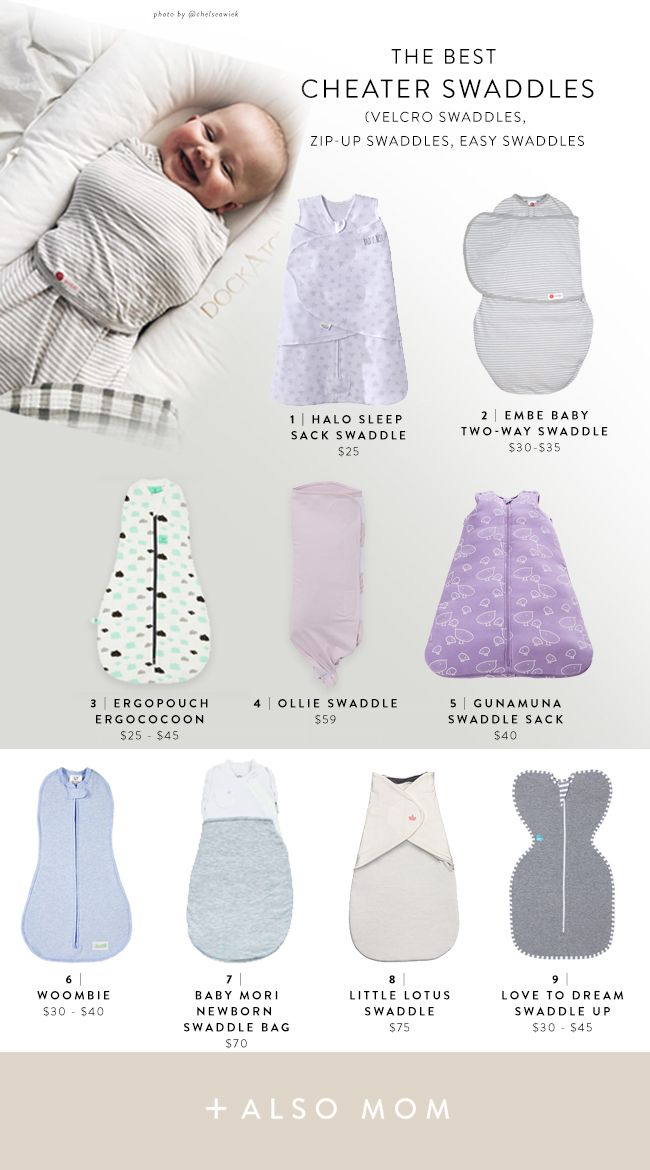 new style ce52f 54535 The Best Velcro & Zip-Up Swaddles | Best Baby Stuff | Baby ...