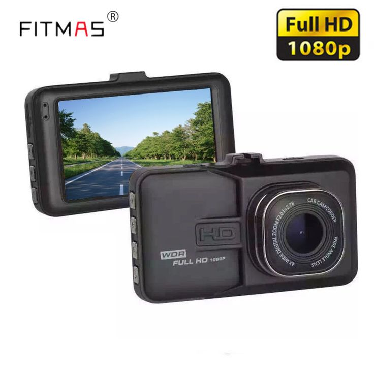 Car Dvr Camera Full HD 1080P 170 Degree WDR Dash Cam Vehicle Camera Registrator Auto Recorder Night Vision Motion Detector