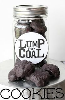 Kelsey's Recipes: Oreo's Lumps of Coal Cookies