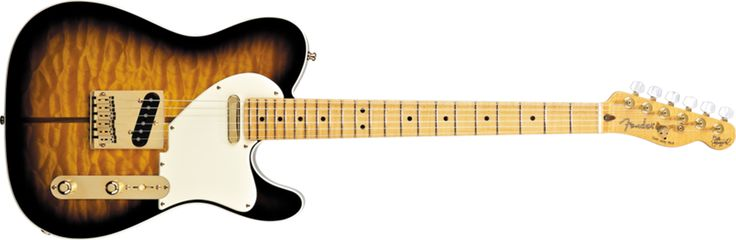 Fender Merle Haggard Signature Telecaster® atau The Hag's adalah sebuah Thinline Telecaster yang di modifikasi.gitar ini memiliki fitur Alder wing dengan tone chamber, laminated figured maple top, maple center block,set-neck dengan deep carved heel, Ivoroid pickguard dan binding, gold hardware,abalone tuff-Dog Telecaster headstock inlay, Texas special Telecaster pickup dan custom four way switching. Harga Rp.87.650.000