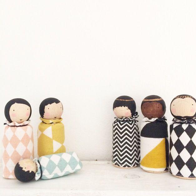 Krippen - sternwerk krippenfiguren - ein Designerstück von sternwerk bei DaWanda