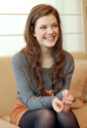 Georgie Henley i love her clothing style!