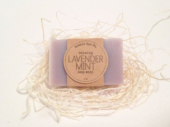 30 Soap Minis | Favors | You Choose | Wedding Party Favor | Bridal Shower Favors | Baby Shower | Birthday Party | Lavender Mint | Purple