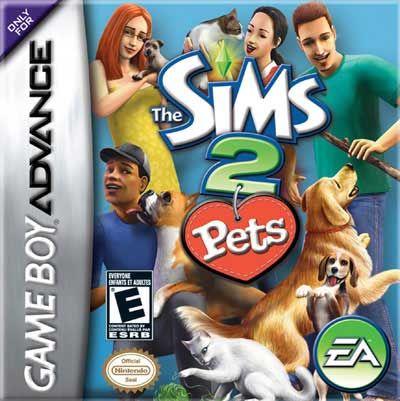 final fantasy 4 gba | Sims 2 Pets Nintendo Game Boy Advance GBA