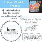 Easter Sentiment Freebie