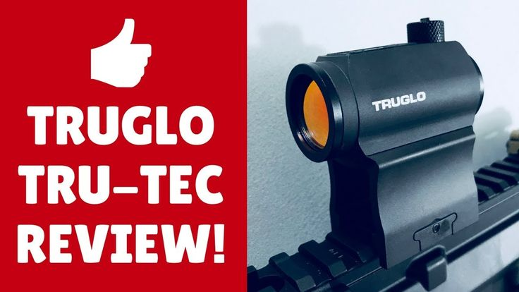 👌 Truglo Tru-Tec Red Dot Sight Review - Best Red Dot Sight Under 200 Dol...