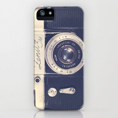 iPhone 5 Case, iPhone 5, Iphone 4, camera, black, girly, he him, soft, geek, retro vintage, hipster. $45.00, via Etsy.