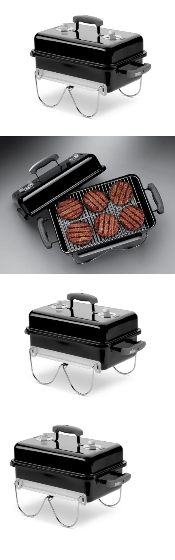 Camping BBQs and Grills 181388: Small Portable Charcoal Grill Grills For Camping Gear Cooking Barbeque Chef Best -> BUY IT NOW ONLY: $71.97 on eBay!