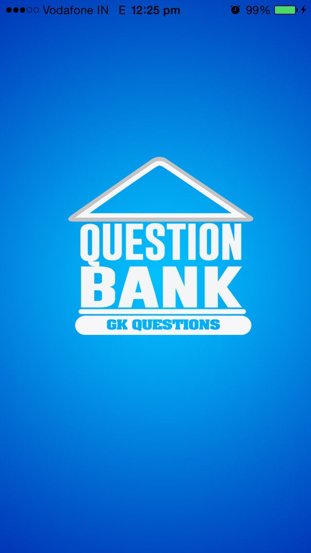 Question Bank app helps you in preparing for competitive exams . It also provides daily current affairs for 2015 along with question banks and mock test series.