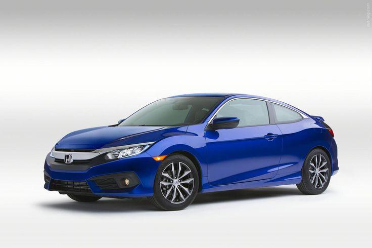 2016 Honda Civic Coupe – маркетинг-оптимизированная посредственность #2016MY #Honda_Civic #Honda #compact_car #japanese_auto_brands #Android_Auto #Apple_CarPlay #LAAS_2015 #Honda_Civic_Coupe