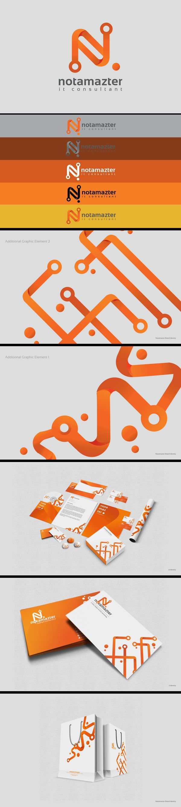 identity / notamazter | #stationary #corporate #design #corporatedesign #identity #branding #marketing < repinned by www.BlickeDeeler.de | Take a look at www.LogoGestaltung-Hamburg.de