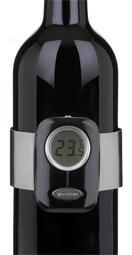 Trudeaun tarkka viinilämpömittari takaa, että viini on pöydässä parhaimmillaan.     Digitaalisen viinilämpömittarin avulla viini tarjoillaan maun kannalta optimaalisessa lämpötilassa.    Digitaalisella lämpömittarilla on vuoden takuu.