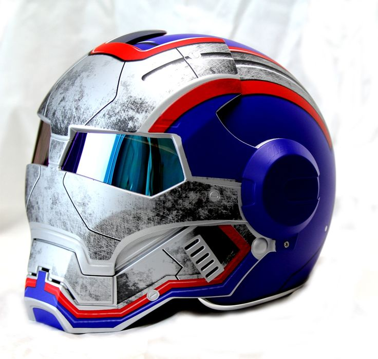 Masei Blue Star Trooper 610 Motorcycle Harley Chopper DOT Helmet FREE Shipping Worldwide