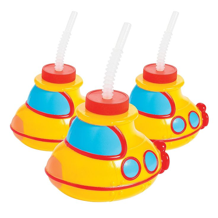 Submarine+Cups+with+Lids+&+Straws+-+OrientalTrading.com