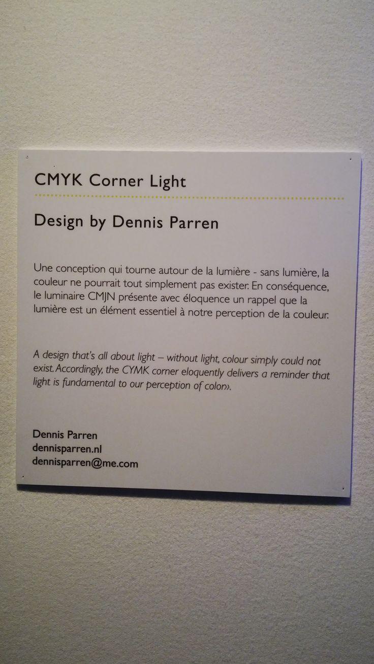 CMYK Corner Light explanation - design by Dennis Parren [#maisonobjet September 2013]