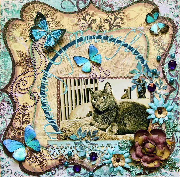 Dreaming Of Butterflies ***SWIRLYDOOS*** - Scrapbook.com