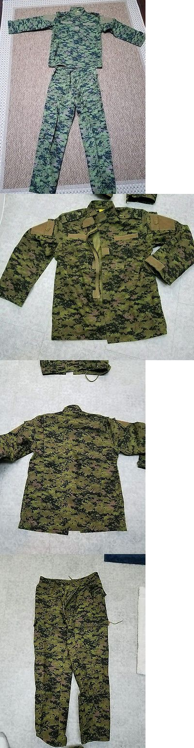 Clothing and Protective Gear 159044: Cadpat Digital Camo Bdu Uniform Set Medium -> BUY IT NOW ONLY: $59.99 on eBay!