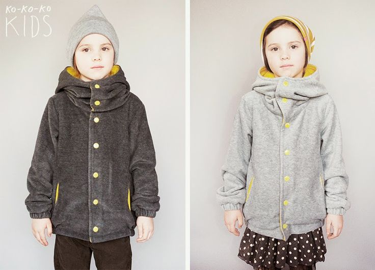 kokokoKIDS: Весенняя коллекция 2014: флисовые куртки унисекс