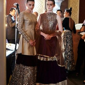 Manish Malhotra's Ombre Gold Collection {India Couture Week 2014}