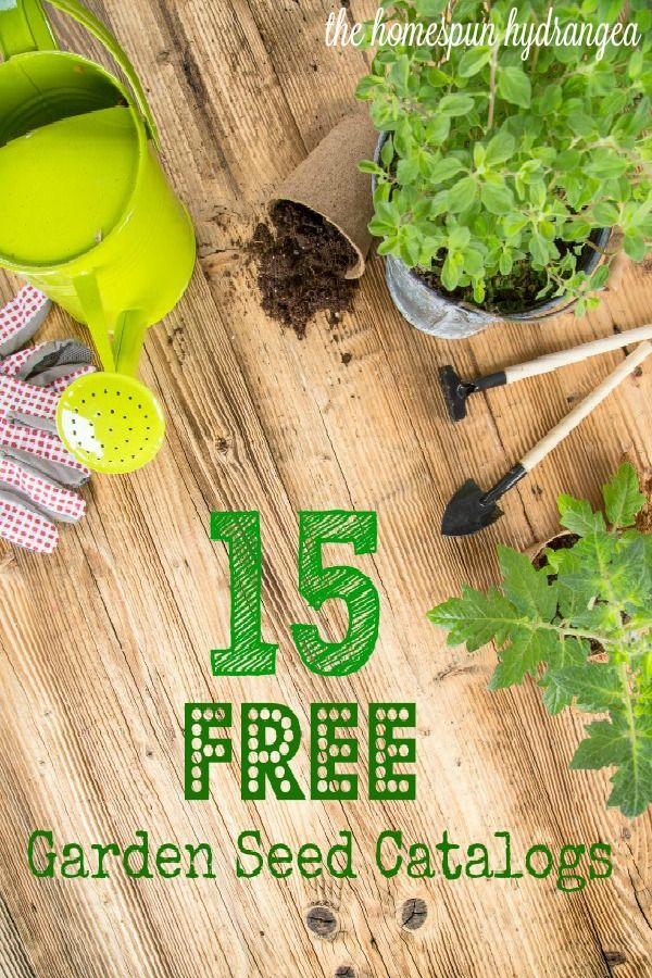 Request your free gardening catalogs and find some other fun gardening freebies!