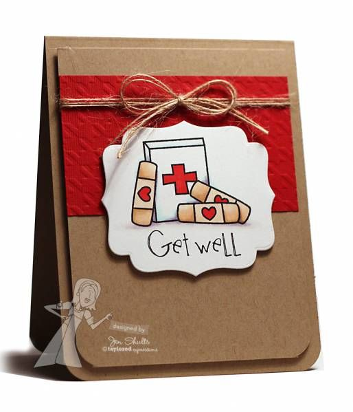 Get Well by deconstructingjen - Cards and Paper Crafts at Splitcoaststampers