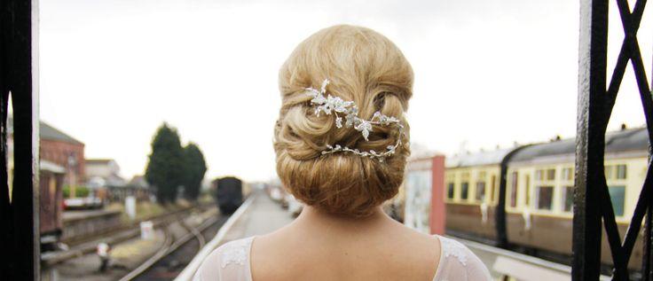 Wedding Hair design by Wayne Leddington
