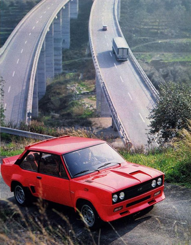 car-hire-uk.com Review:- 1976 Fiat Abarth 131 Rally www.national-car-hire.co.uk