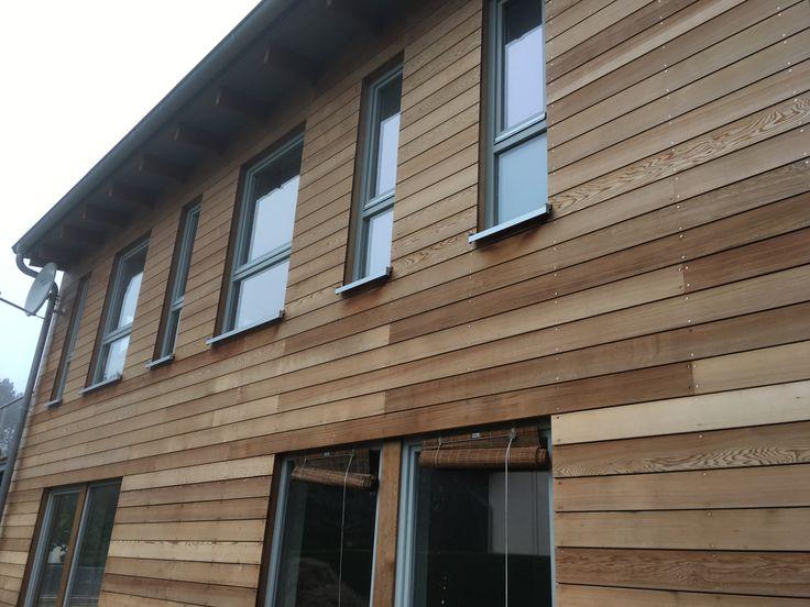 182 besten holzfassade wood cladding bilder auf pinterest dachboden farbe und holzfassade. Black Bedroom Furniture Sets. Home Design Ideas